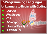 6 Programming Languages for Learners to Begin with Coding