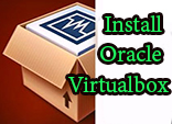 Download and install Oracle Virtual box
